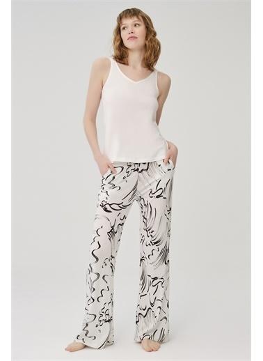 Dagi Pijama Takım Beyaz